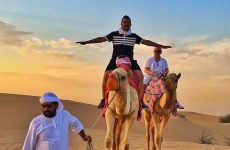 Camel Ride in Dubai Desert