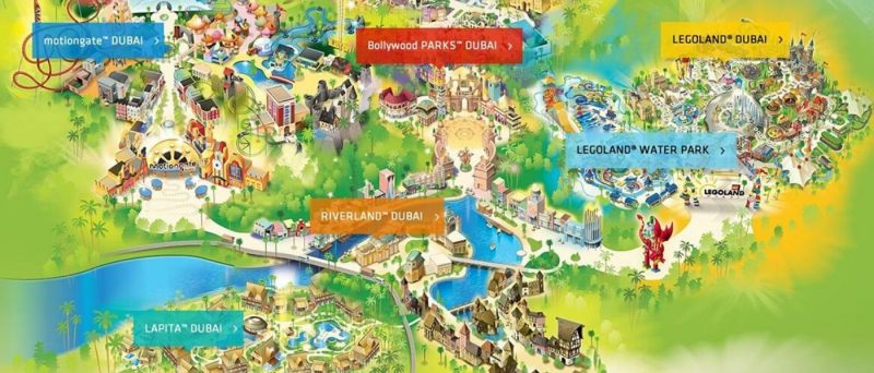 Dubai Parks & Resorts Tickets Online