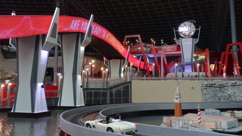 Ferrari World Theme Park Tickets Online