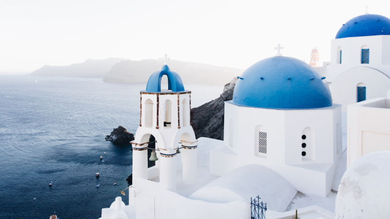 Santorini travel packages from Dubai