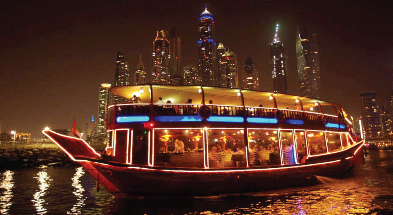 Dhow Cruise Dinner In Marina