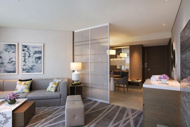 Al Bandar Rotana Classic Suite Livingroom
