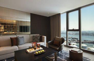 Al Bandar Rotana Premium suite lounge & View