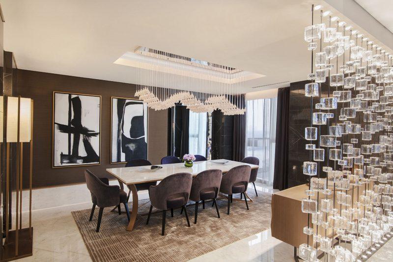 Al Bandar Rotana Royal Suite Dining Room