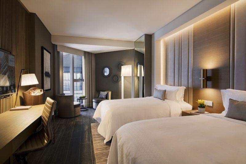 Al Bandar Rotana Royal suite Alternate Bedroom
