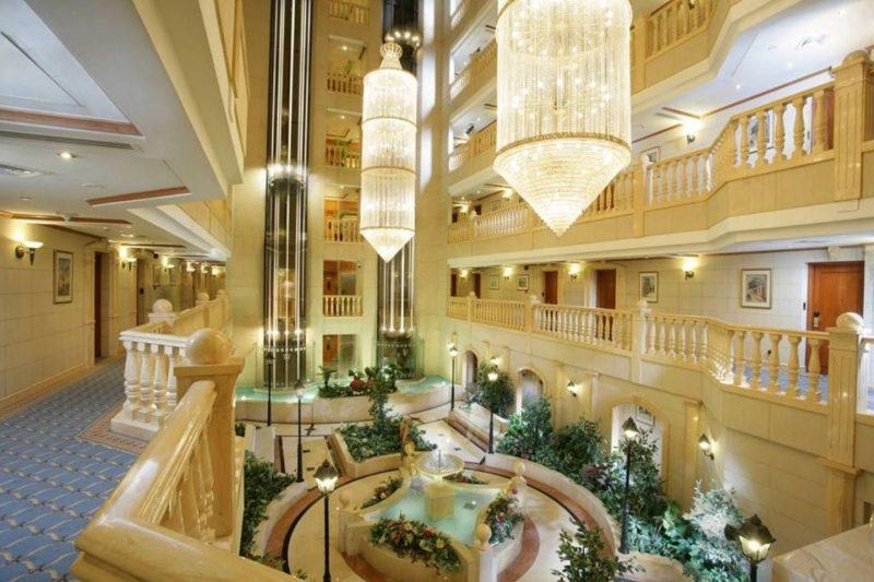Carlton Palace Dubai Lobby