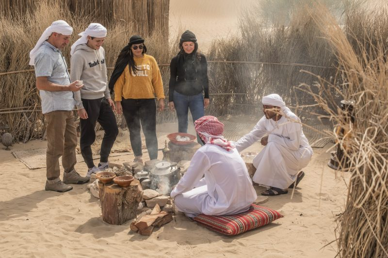 Cooking Stations at Al Marmoom Desert Conservation