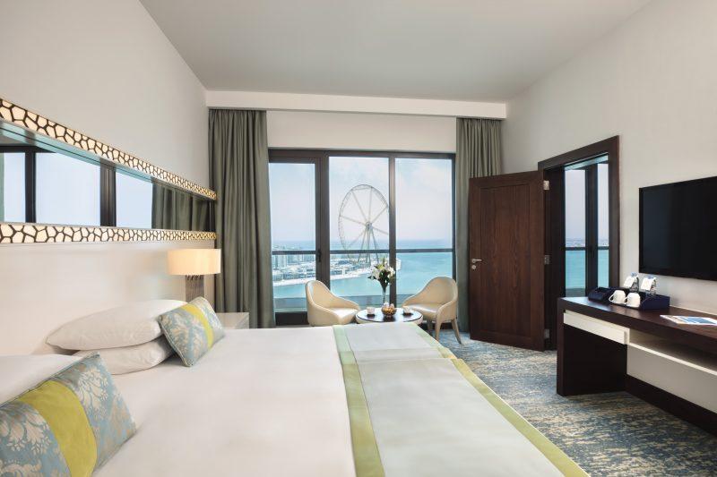 JA Ocean View Hotel - Bedroom Family Suite