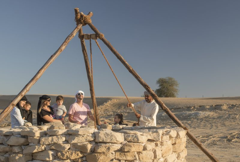 Restored Well Morning Bedouin Experience