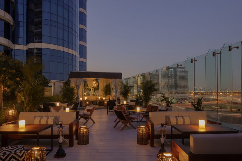 Shisha Lounge Paramount Hotel Dubai