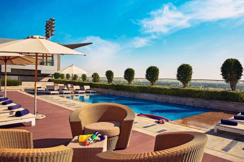 The Meydan Hotel Swimming Pool