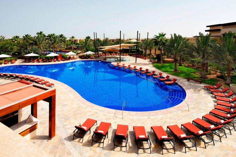 The Westin Abu Dhabi Pool Area