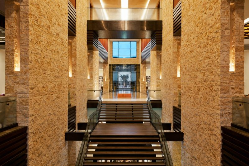 The Westine Abu Dhabi Staircase