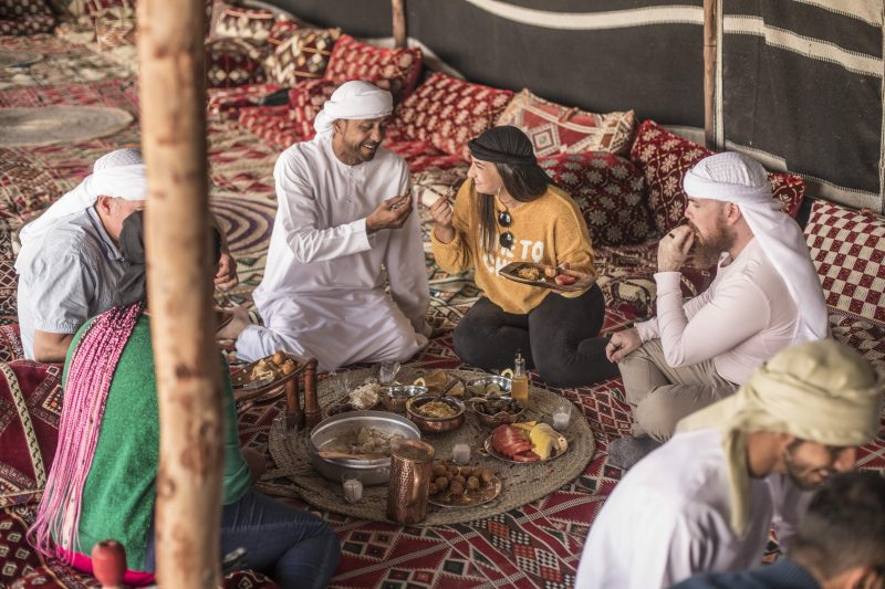 Traditional Arabic Cuisine at Al Marmoon