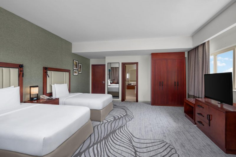 DoubleTree Rak rooms