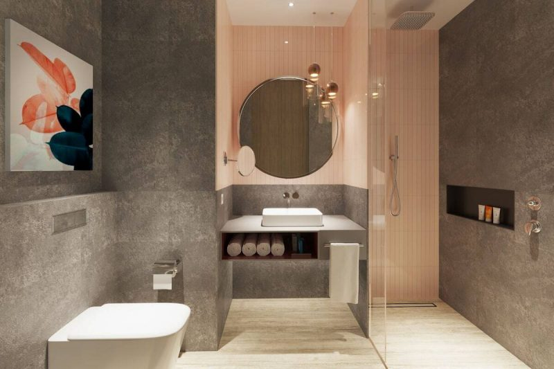 Hampton by Hilton Bathrooms