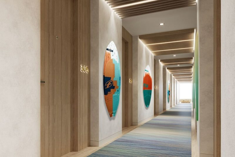 Hampton by Hilton Corridor