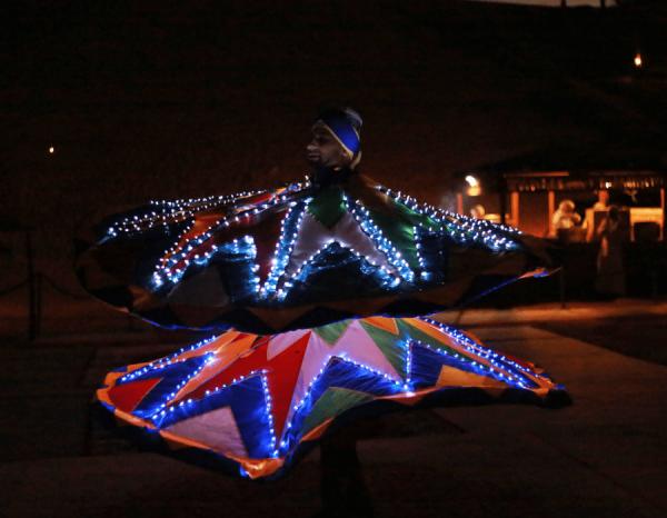 Tanoura Dance in Desert Camp