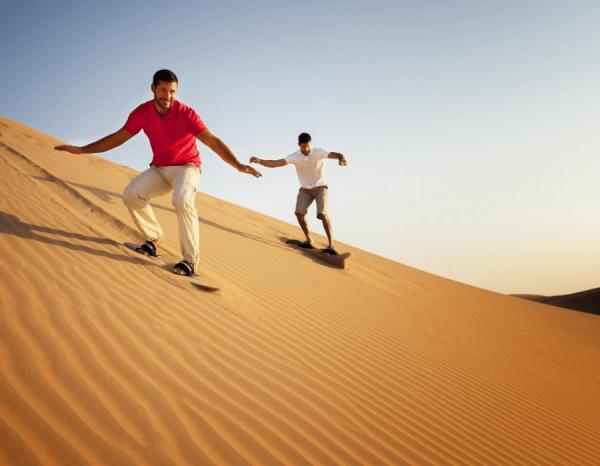 Sandboarding in Ras Al Khaimah