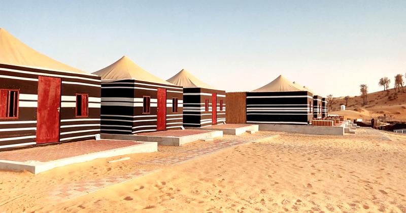 Deluxe Bedouin Tents
