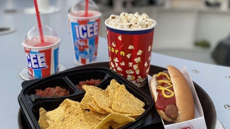 Hotdog at Flying Cup Dubai