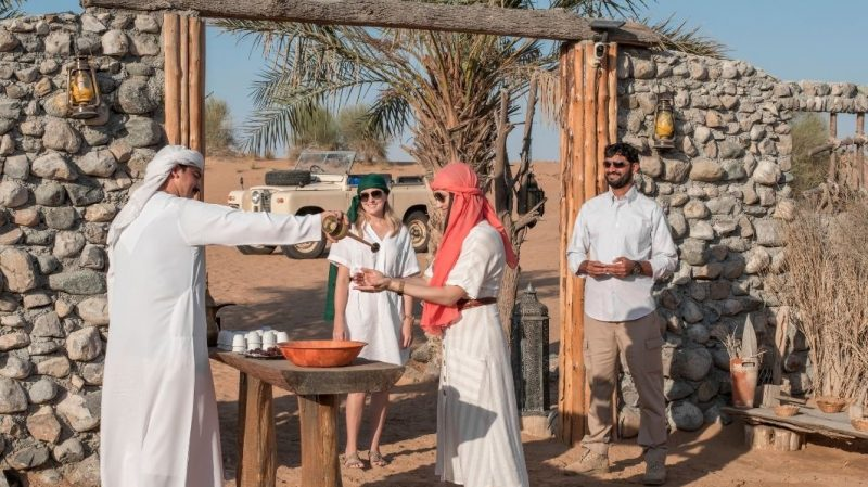 Bedouin Style Welcome