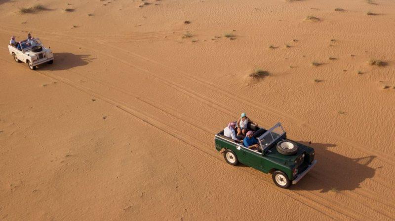 Car Drive in Desert Safari