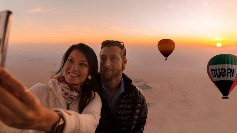 Morning Hot Air Balloon RIde