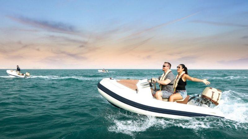 Romantic boat rides